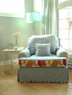 Restyled Home: New Chair, or New Slipcover?!