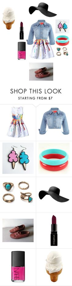 """""""Untitled #131"""" by vasth-queen on Polyvore featuring Junk Food Clothing, Smashbox and NARS Cosmetics"""