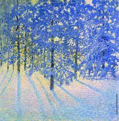 Грабарь Игорь Эммануилович [1871—1960] Зимнее утро. 1907