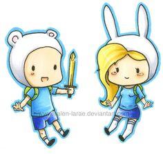 H.D.A_Cute Finn & Fionna
