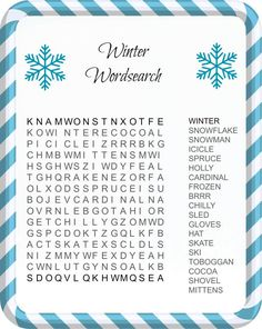 Check out these free Christmas Word Search Printables! Three wordsearches perfect for the holiday season. Fun, educational and seasonal. Fun Activities For Kids, Winter Activities, Christmas Activities, Christmas Projects, Christmas Games, Elderly Activities, Activity Ideas, Christmas Traditions, Family Activities