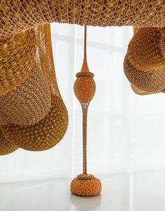 Madness is part of Life by Brazilian Artist Ernesto Neto    Espace Louis Vuitton Tokyo