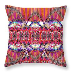 """Catching Dreams  14"""" x 14"""" Throw Pillow by Expressionistar Priscilla-Batzell.  Our throw pillows are made from 100% cotton fabric and add a stylish statement to any room.  Pillows are available in sizes from 14"""" x 14"""" up to 26"""" x 26"""".  Each pillow is printed on both sides (same image) and includes a concealed zipper and removable insert (if selected) for easy cleaning."""