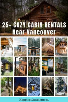 Plan a weekend getway at a cozy cabin. These adorable cabins, cottages, tiny homes, and treehouses near Vancouver, BC have seriously chill vibes. Find cute cute cabins on Vancouver Island, near Whistler, on the Sunshine Coast, or on a Gulf Island. Add a stay at one of these Vancouver cabins to your bucket list. #Vancouver #Cabins #VancouverCabins #Canada #BritishColumbia Treehouse Cabins, Treehouses, Vancouver Travel, Vancouver Island, Lakeview Cabin, Columbia Outdoor, Cozy Cabin, Sunshine Coast, Outdoor Woman