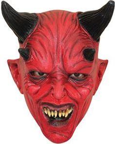 Devil Child Mask - 349568 | trendyhalloween.com #trendyhalloween #devilmasks