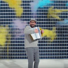 Ok Go's latest music video was filmed in four seconds