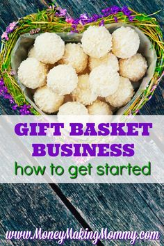 Home Business Idea: Start your own gift basket business. Gift baskets have become more and more popular over the years. And the ideas for gift baskets continue to expand. If you're considering starting your own gift basket business - here's some advice. Cash From Home, Work From Home Moms, Make Money From Home, How To Make Money, Best Home Business, Business Gifts, Business Ideas, Business Essentials, Business Products