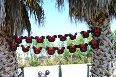 Banner Minnie Mouse DIY