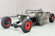 Killer '49 Willys Flat Rat Will Slay Jeep-Rod Fans