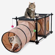 Quero comprar pras minhas meninas    Kitty City Hideaway Cave for Cats #shopko via shopko.com