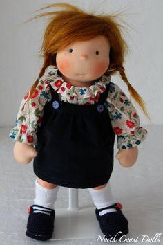 """Faustine 17"""" Waldorf Doll by North coast Dolls"""