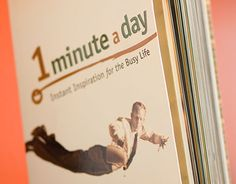 """Check out new work on my @Behance portfolio: """"1 Minute a Day"""" http://on.be.net/1W6p3AU"""