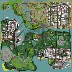 Maps GTA