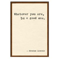 Quotes: Abraham Lincoln 2