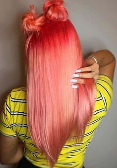 28 Pretty Red & Peach Hair Color Melts for Women 2018. To get the beautiful and modern hair color melts and make your hair looks more elegant you must visit the amazing shades of red and peach hair colors in 2018. Red hair colors are perfect choice for ladies who have long sleek and straight hairstyles. Here you may find the coolest ways to make this hair color looks like natural.