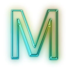 The letter: M