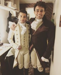 Jordan Fisher and Andrew Chappelle