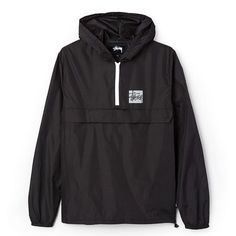 632b5c84ab0c2b Lightweight pullover from Stussy. Features packable design with quarter zip  front