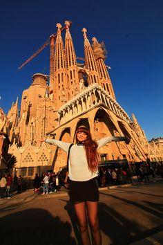 Barcelona itinerary, weekend trip, city break
