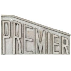 Image of Aluminum Premier Sign