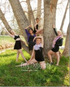 Outdoor dance photography
