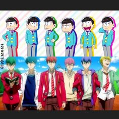 So this is my 4th time rewatching the 3episodes of Osomatsu-san I dunno but when I get home I crave for it. Maybe because 4 of the 6 brothers are my ...