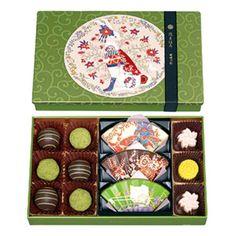 【バレンタインデー届け専用】お抹茶ショコラセット(大)