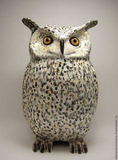 Ceramic Animals, Ceramic Birds, Ceramic Clay, Ceramic Pottery, Pottery Sculpture, Bird Sculpture, Clay Birds, Pet Birds, Owl Art