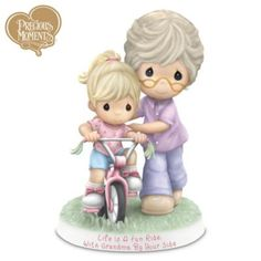 Life Is A Fun Ride With Grandma By Your Side Figurine