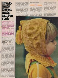 Click for a larger view Baby Hats Knitting, Knitting For Kids, Knitted Hats, Knit Crochet, Crochet Hats, Knitwear, Knitting Patterns, Kids Outfits, Winter Hats