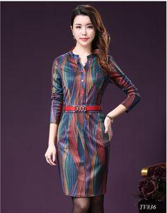Bộ sưu tập đầm trung niên cao cấp Hàn Quốc