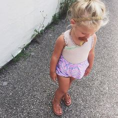 Purple and Pink Bloomers Handmade Fashion for Girls by EWMcCall
