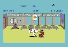 My all time favourite video games: The Way Of The Exploding Fist - Commodore 64 - 1985