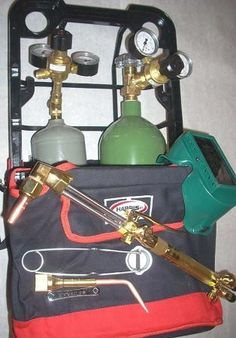 Buy Oxy Acetylene Welding kit - ATL weldingsupply provides best Oxy acetylene welding kit. It uses dual oxygen and acetylene gases stored under pressure in steel cylinders.