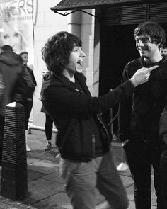 Alex Turner and Nick O'Malley
