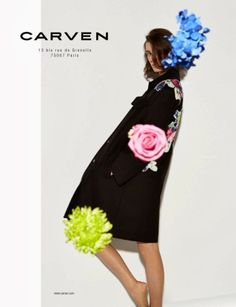 The Essentialist - Fashion Advertising Updated Daily: Carven Ad Campaign Spring/Summer 2014