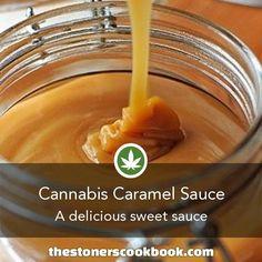 Cannabis Caramel Sauce -