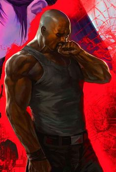 Curiously Marvel does NOT want to premiere this film in movie theaters but through NETFLIX. Casting is still undetermined, but I think Chad Coleman would make a great Luke Cage Marvel Comic Character, Comic Book Characters, Comic Book Heroes, Marvel Characters, Comic Books, Marvel Dc Comics, Marvel Heroes, Marvel Avengers, Luke Cage Jessica Jones