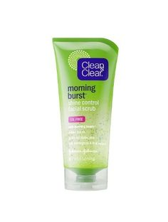 Clean and Clear Morning Burst Shine Control Facial Scrub - 5 oz *** Remarkable product available now. : Face Exfoliators, Polishes and Scrubs