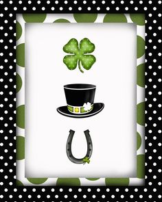 St. Patty's Day Printable - Luck at you? (Luck hat shoe)