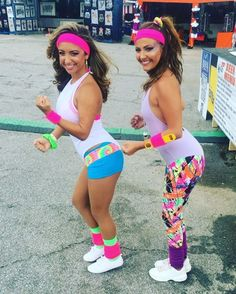 Nostalgia Time: Neon-Bright '80s Workout Costume Inspiration '80s Workout Costumes Might Be the Most Fun Costumes You Can Wear