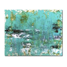 Abstract Painting- Sea Rain