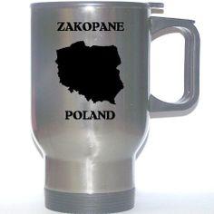 Poland - ZAKOPANE Stainless Steel Mug  #Custom_Image_Factory #Single_Detail_Page_Misc