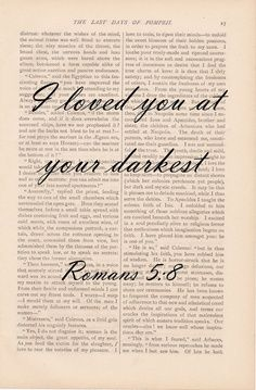 Bible quote but reminds me of how I loved Charlie thru his demons, dark days, addictions & vices. Love him no matter what