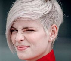 One of the Cutest Undercut Pixie Hairstyles Short Hair Undercut, Undercut Hairstyles, Pixie Hairstyles, Cool Hairstyles, Blonde Hairstyles, Men Undercut, Hairstyle Men, Men's Hairstyles, Elegant Hairstyles