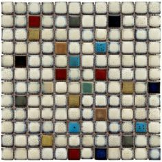 SomerTile 12 x 12-inch Tuscan Spiral Cascade Porcelain Mosaic Floor and Wall Tile (Pack of 10)