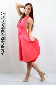 fashionstring.com #webshop, egészruha, sötét lazac, nyári ruha, női ruha, női ruha üzlet,  #model photo #rolandsarkadi.com #sexy girl, #party ruha, randi ruha, #ricza nicolett, Mosonmagyaróvár női ruha üzlet #fashion #women
