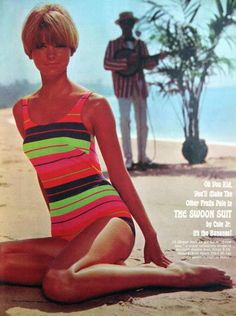 The Swoon Suit by Coles - Cheryl Tieg 1967
