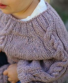 free knitting pattern for child's poncho