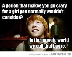 In the muggle world…